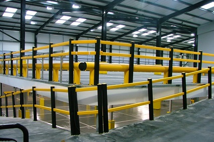 Linco PC supply mezzanine floor car parks to car retailers requiring additional storage space