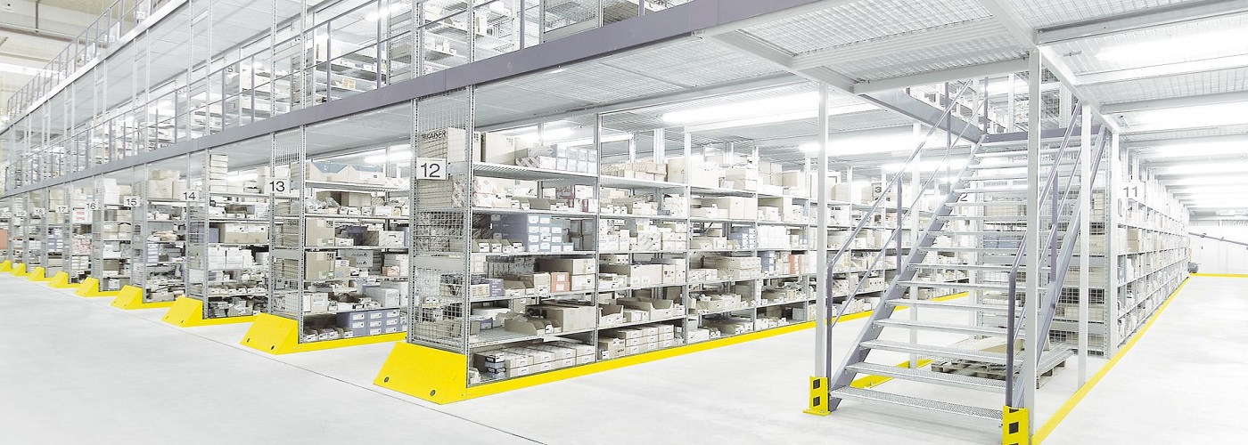 mezzanine floor and storage systems from Linco PC