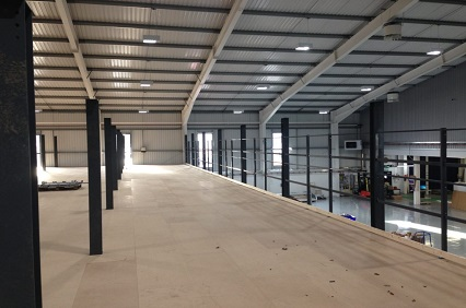 mezzanine flooring systems from Linco in Oldham Lancashire